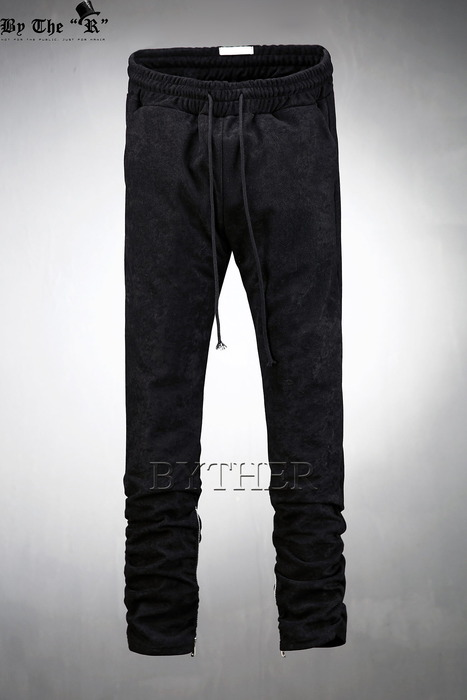 Velvet Zipper Pants