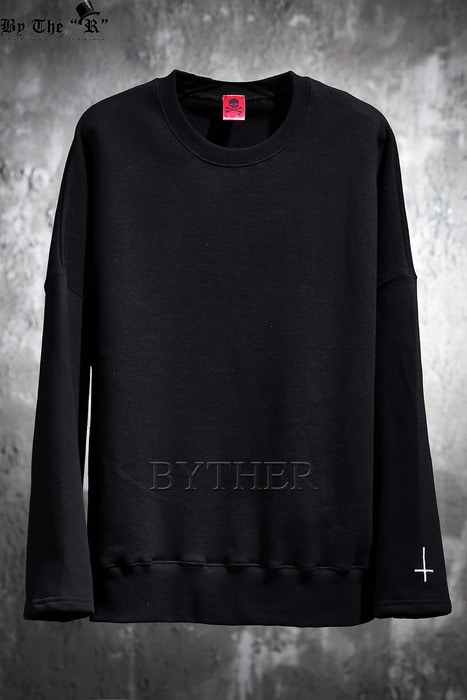 ByTheR Sleeve Embroidery T-Shirts