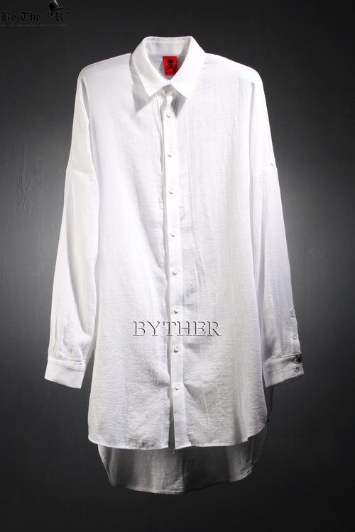 ByTheR Unbalanced Loose Shirts