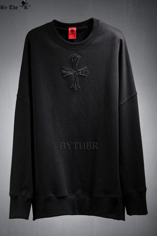 ByTheR Center Cross Sweatshirts