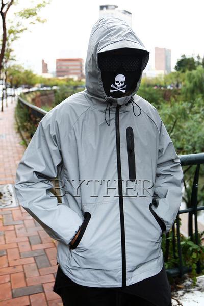 Light Reflective Windbreaker Jacket