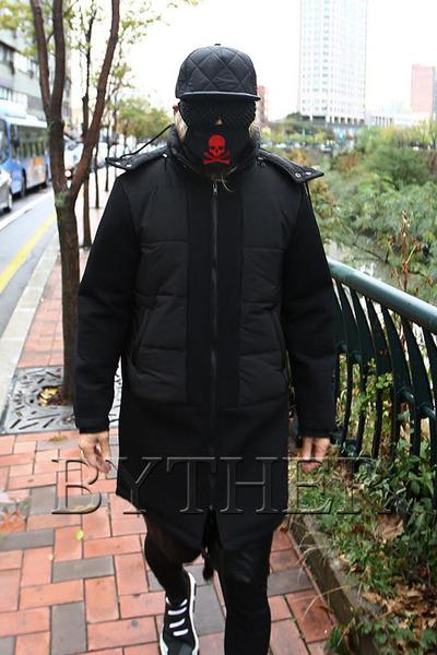 Detachable Hoodies Long Jacket