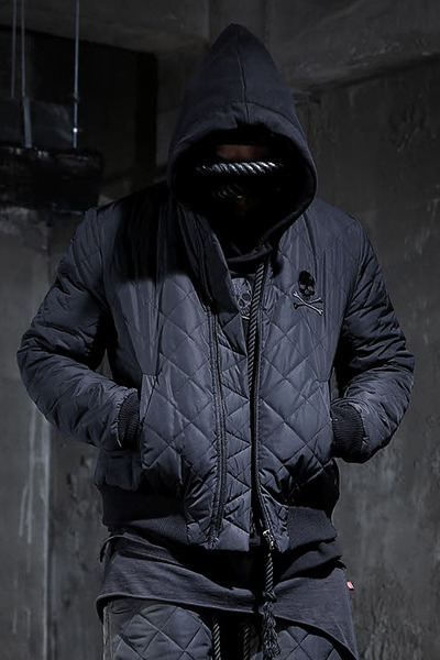 ByTheR Skull Quilted Jacket