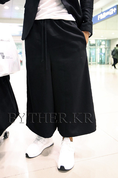 ByTheR TR String Wide Baggy Pants