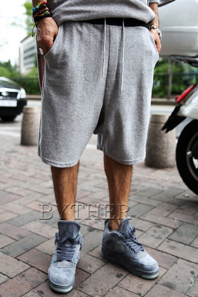 Loose Towel Baggy Shorts