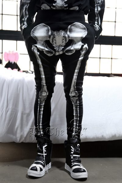 ByTheR Skeletal Print Training Pants