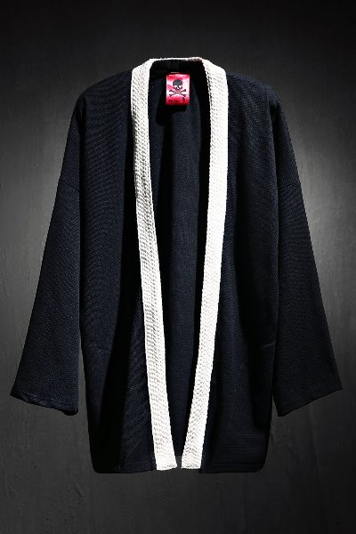 ByTheR flat rope robe cardigan ivory