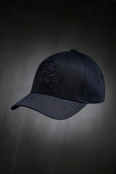 Mukha cotton embroidered ball cap